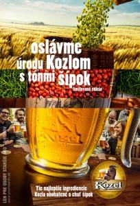 Súťaž: Velkopopovický Kozel oslavuje novú úrodu limitovanou edíciou so šípkovou príchuťou